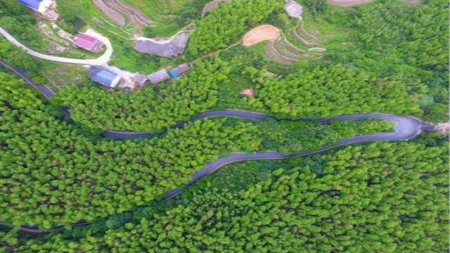 影珠山乡村公路