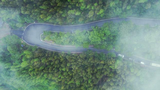 [公路围着景区跑]长沙县影珠山环山公路