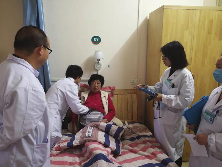 岳阳市首家社区医联体联合病房成立