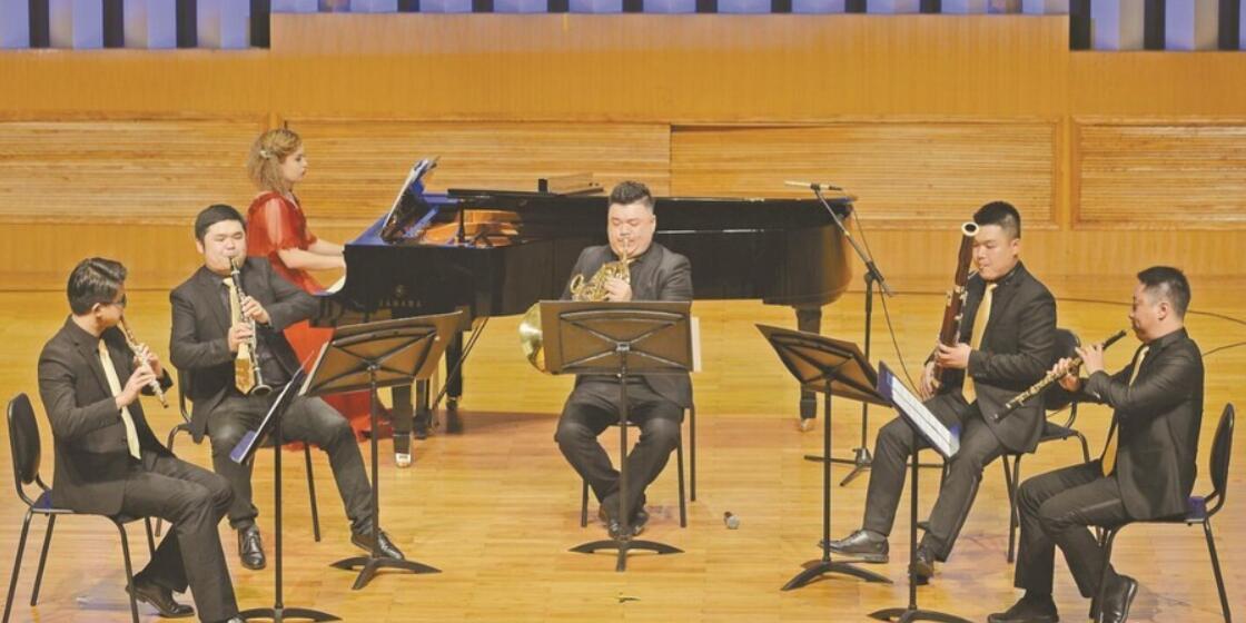 木管五重奏吹响中外名曲