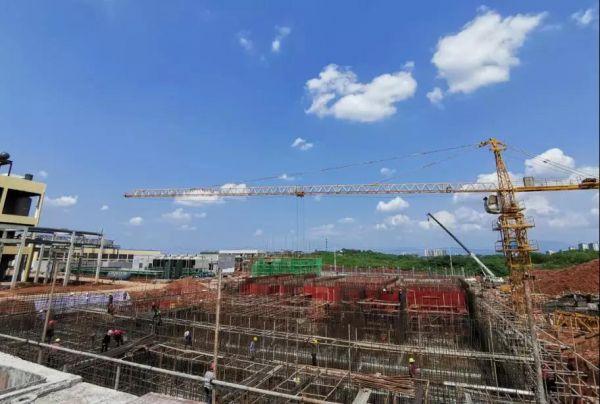 昊华生物综合污水处理站建设现场