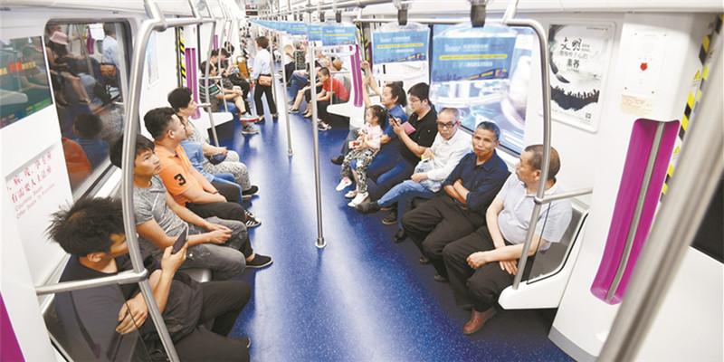 长沙地铁4号线载客试运营