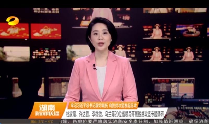 湖南省五大家领导分赴20个贫困县市调研