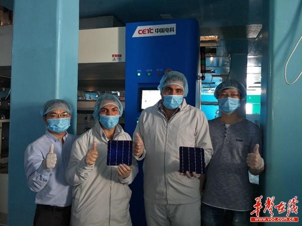 """【中非""""湘""""约企业行】中国电科48所:中国标准花开尼罗河畔"""