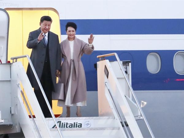 习近平对意大利、摩纳哥、法国进行国事访问