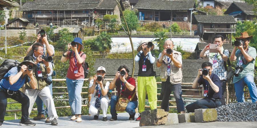 艺术摄影家走进泸溪