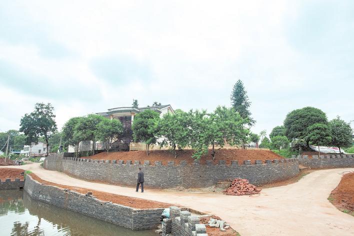 城乡环境基础设施建设实施六大工程
