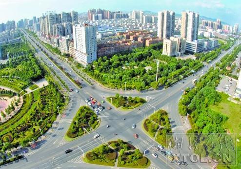 湘潭市生态绿心区裸露山地超八成已复绿
