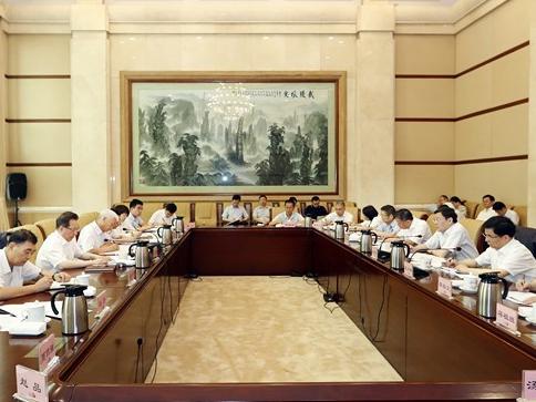 中央第一指导组听取湖南主题教育情况汇报