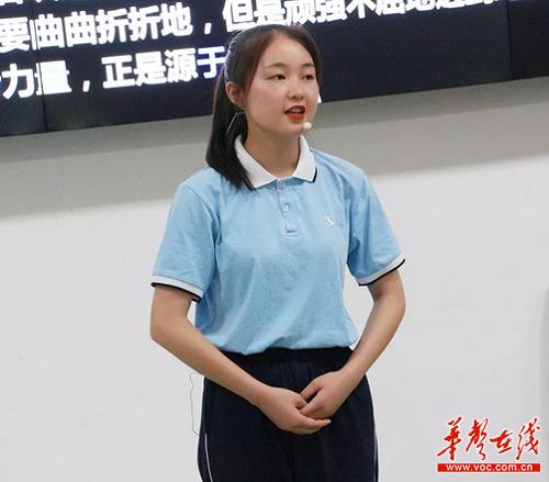 株洲幼师学校开展诗歌朗诵比赛:声音传递温暖 朗读传递情感