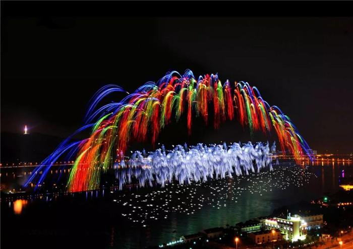 6月26日晚,长沙橘子洲增加燃放一场烟花
