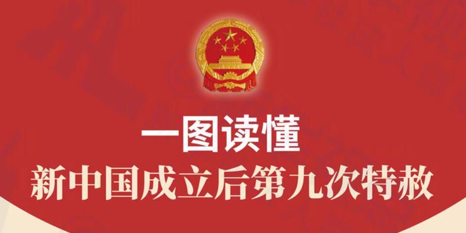 一图读懂 | 新中国成立后第九次特赦