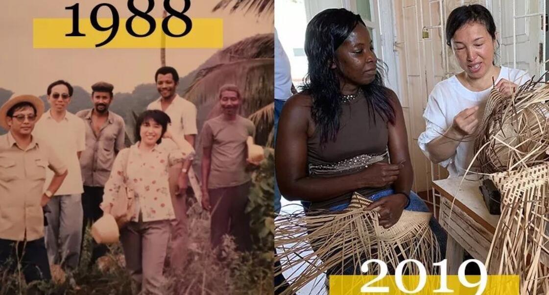 """草编,让她和非洲""""交织""""了31年"""