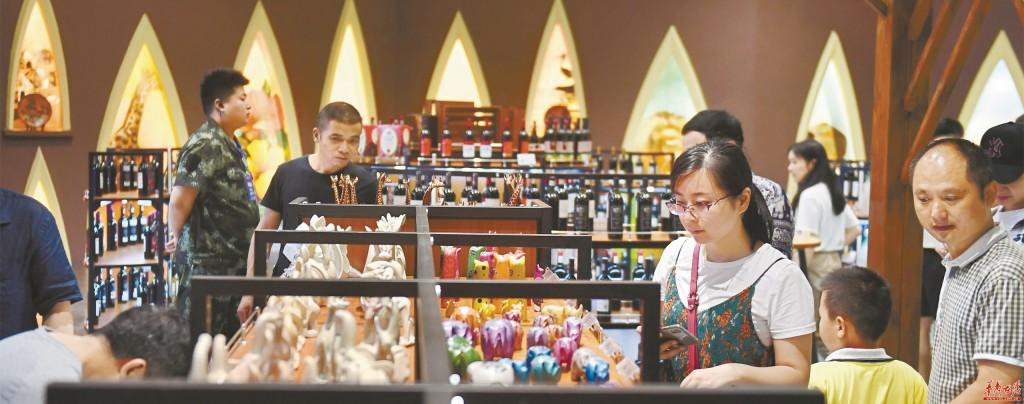 """长沙市民在""""家门口""""即可选购非洲商品"""