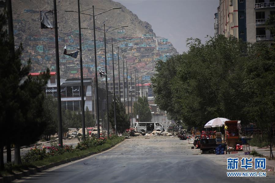 (国际)(1)阿富汗首都遭爆炸袭击34人死亡