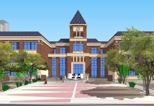 市二中第一、第二附属小学明年都将投用