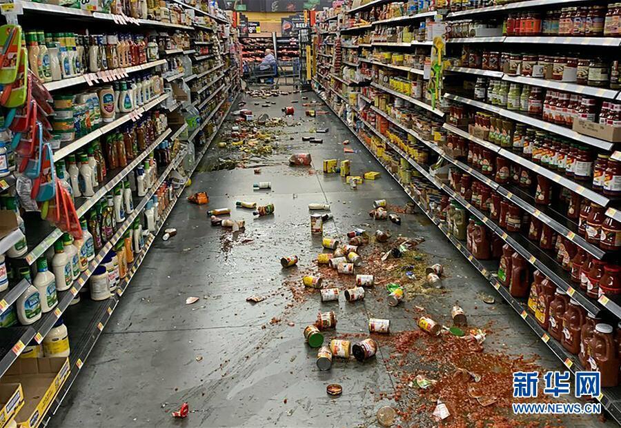 简讯:美国加利福尼亚州南部发生7.1级地震