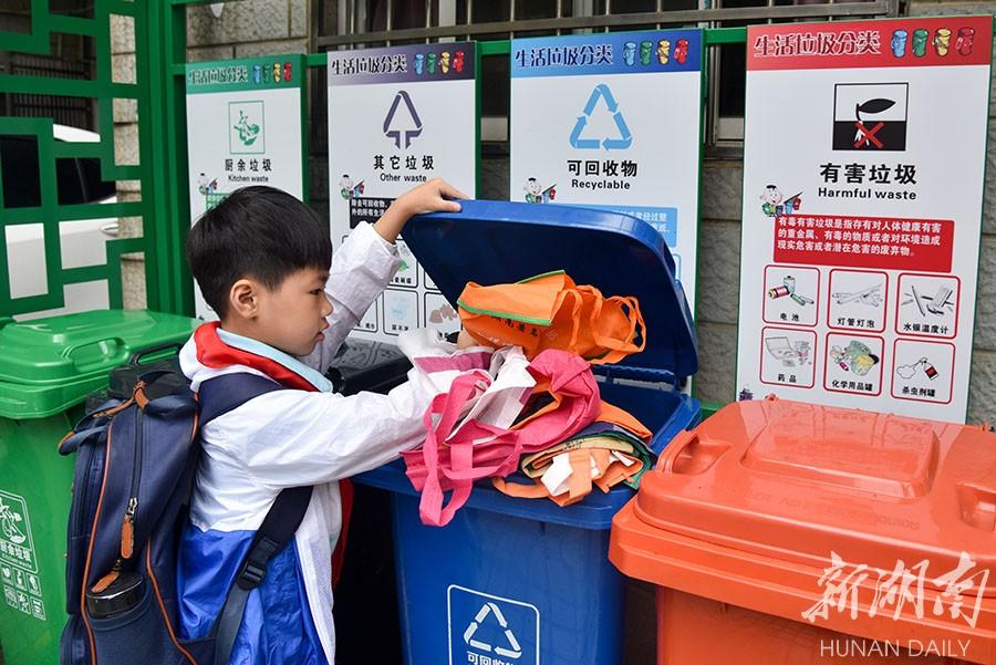 撤桶并点 推行垃圾分类