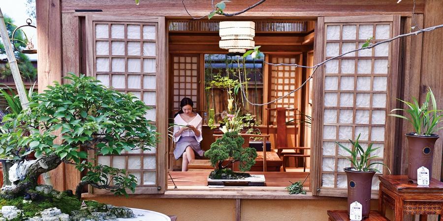 精致典雅的北京世园会湖南馆