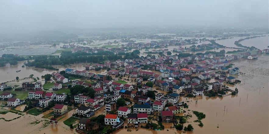 攸县:汛情告急  紧急救援