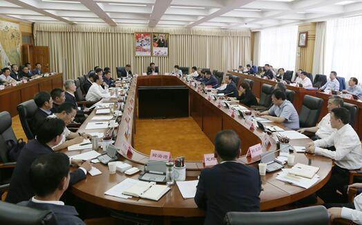 湖南·西藏对口支援座谈会在拉萨召开 许达哲齐扎拉出席