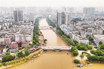 邵阳市迎击今年入汛以来最大洪峰纪实