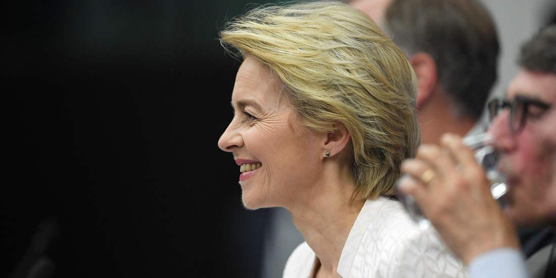 德国前国防部长冯德莱恩当选下届欧盟委员会主席
