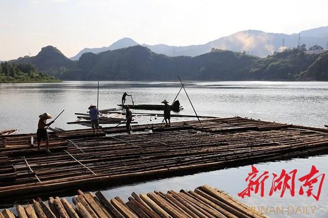 """洪江古商城《沅江号子》再次亮相""""湘音·乡韵"""" 新湖南www.hunanabc.com"""