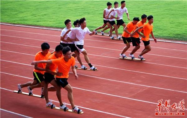 湖南省板鞋队赴海南训练交流