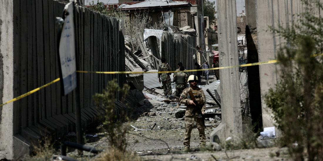 阿富汗首都喀布爾汽車炸彈爆炸95人受傷