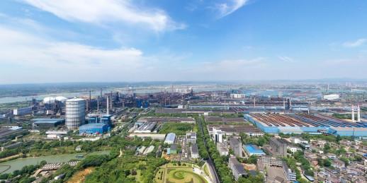 湘钢:崛起于毛主席家乡的现代化钢城
