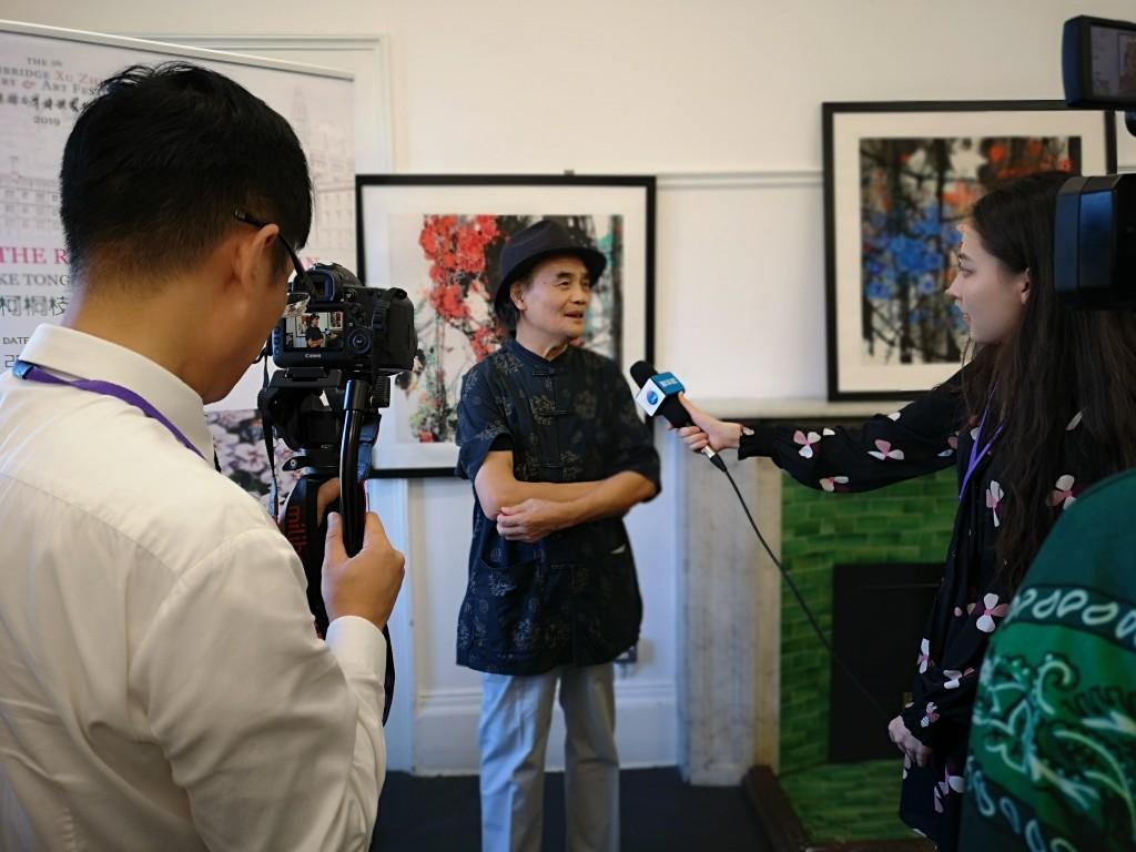 湖南艺术家亮相第五届剑桥徐志摩诗歌艺术节