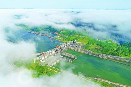 岁月留痕 大地印记丨五强溪水电站:湖南水电建设立丰碑