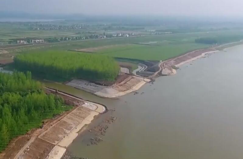 湖南对长江湘江入河排污口开展无人机航测