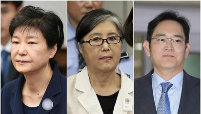 """朴槿惠案终审却非""""大结局"""",""""三匹马""""或将改变三人命运"""