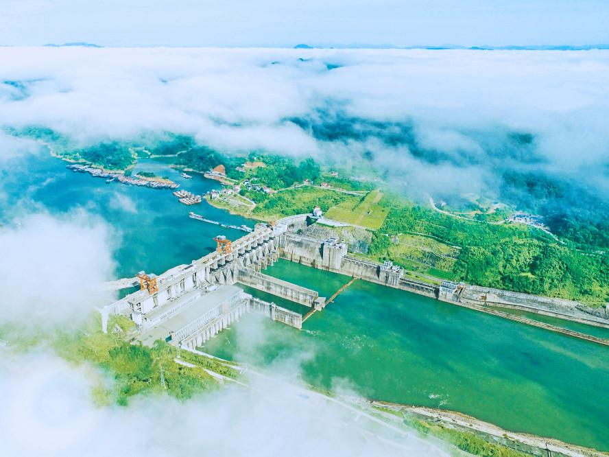 五强溪水电站:湖南水电建设立丰碑