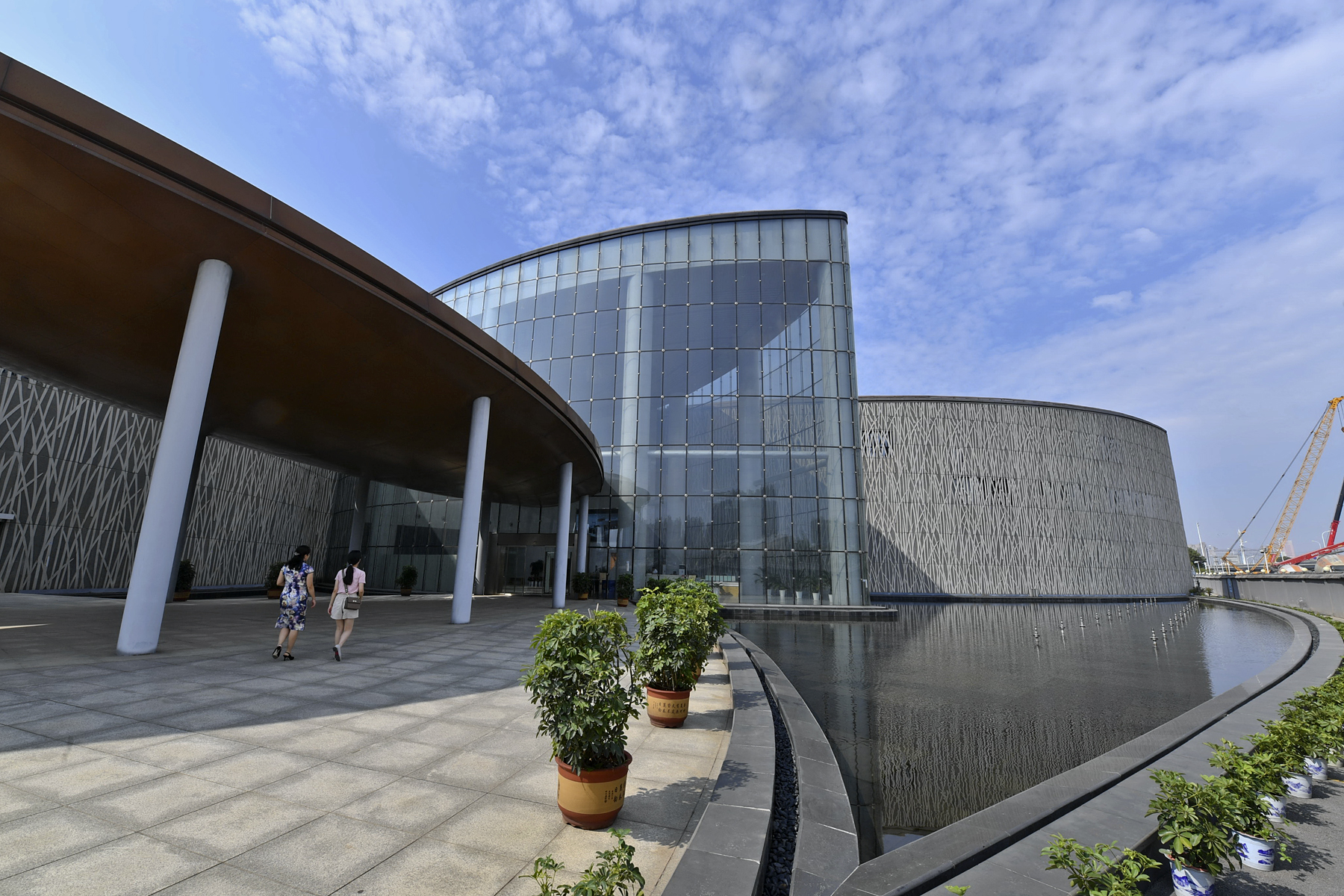 本月底,世界首个大型水稻博物馆——隆平水稻博物馆即将正式开馆,免费对市民开放。 长沙晚报全媒体记者 王志伟 摄