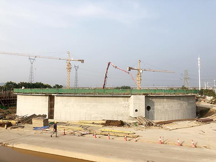 株洲河西污水处理厂二期年底试运行