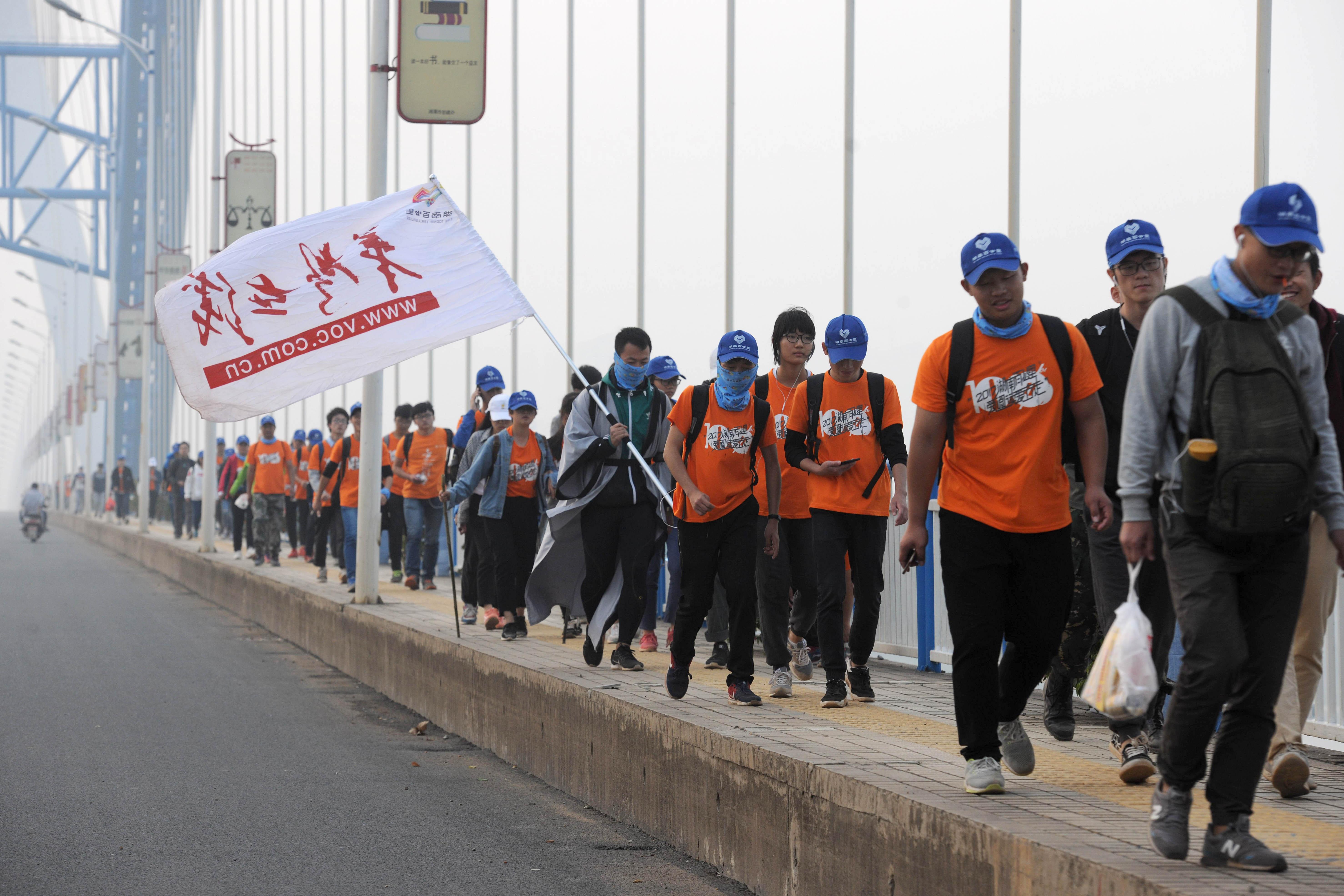 2018湖南(秋季)百公里报名第二天 |  摘掉叛逆娇气的标签
