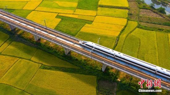 """""""高铁速度""""改写中国经济版图"""