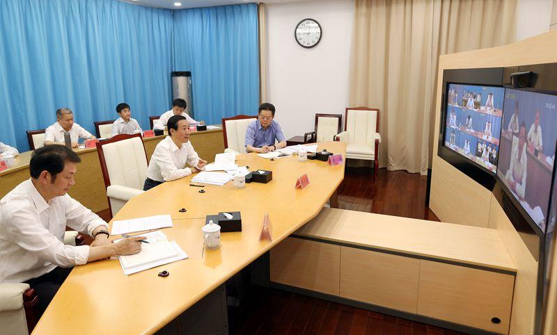 许达哲主持召开全省市州长视频会议:稳增长保民生治污染防风险 以优异成绩庆祝新中国成立70周年