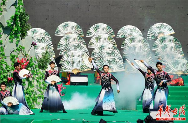 2019年湖南国际文化旅游节在宜章莽山开幕 乌兰出席
