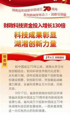 科技成果彰显湖湘创新力量