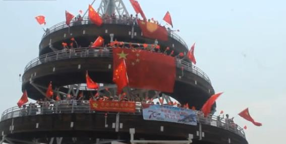 [湘视频·目击香港]听,来自香港市民对祖国的祝福心声