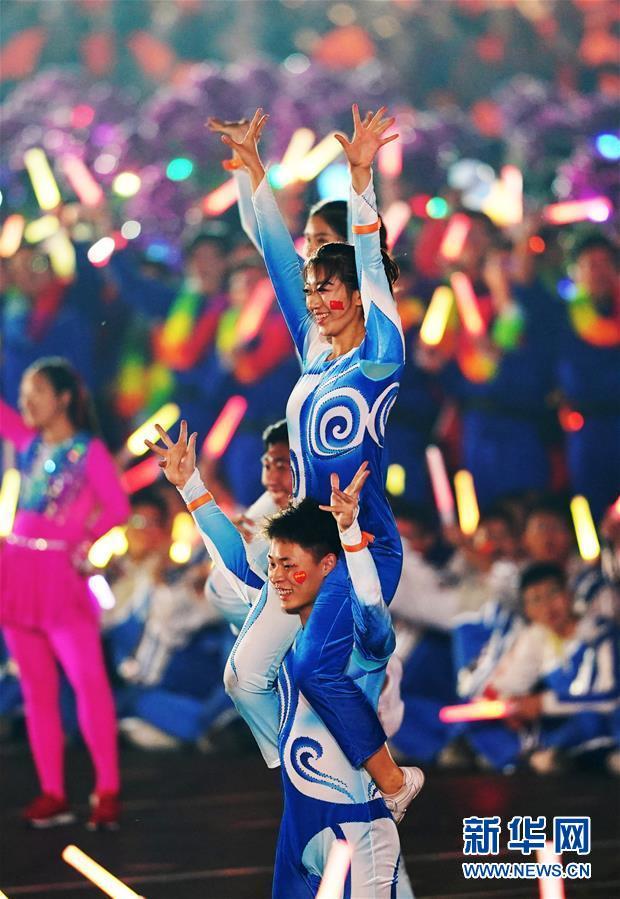(新华视界·国庆70周年·联欢活动)庆祝中华人民共和国成立70周年联欢活动在京举行