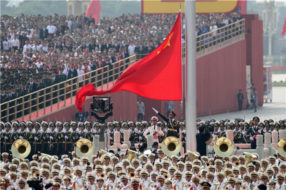 庆祝中华人民共和国成立70周年大会全景纪实