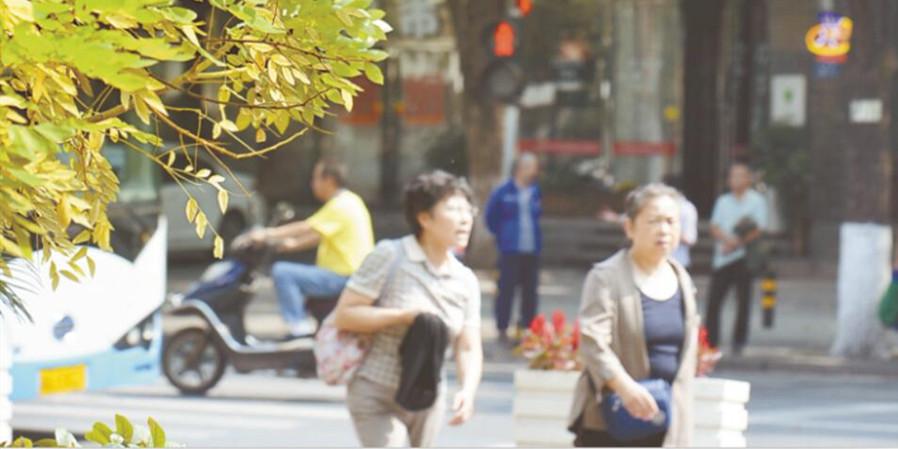 长沙:秋色宜人