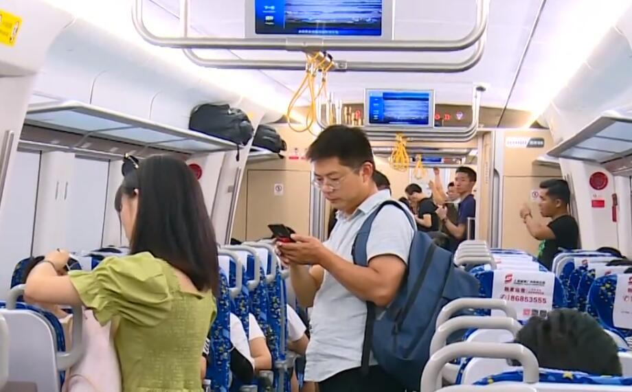 长株潭城铁启用新运行图 运行对数增至70对