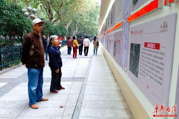 """国防教育的""""公开课"""" 长沙市迎宾路""""国防教育宣传长廊""""面向社会开放"""