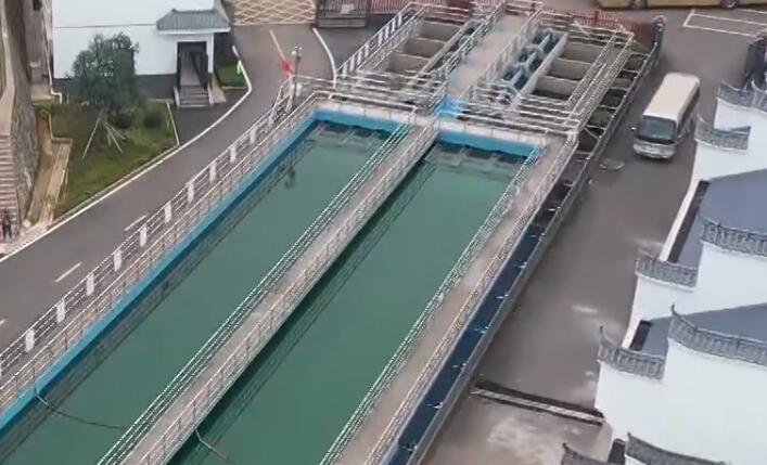 平江供水枢纽工程竣工 40.6万居民喝上自来水